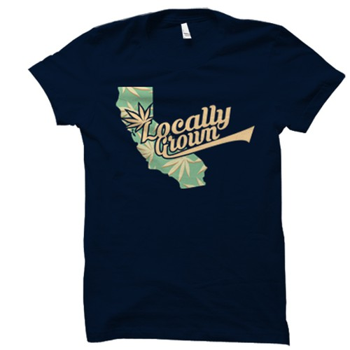T-SHIRT DESIGN FOR LOCALLY GROWN