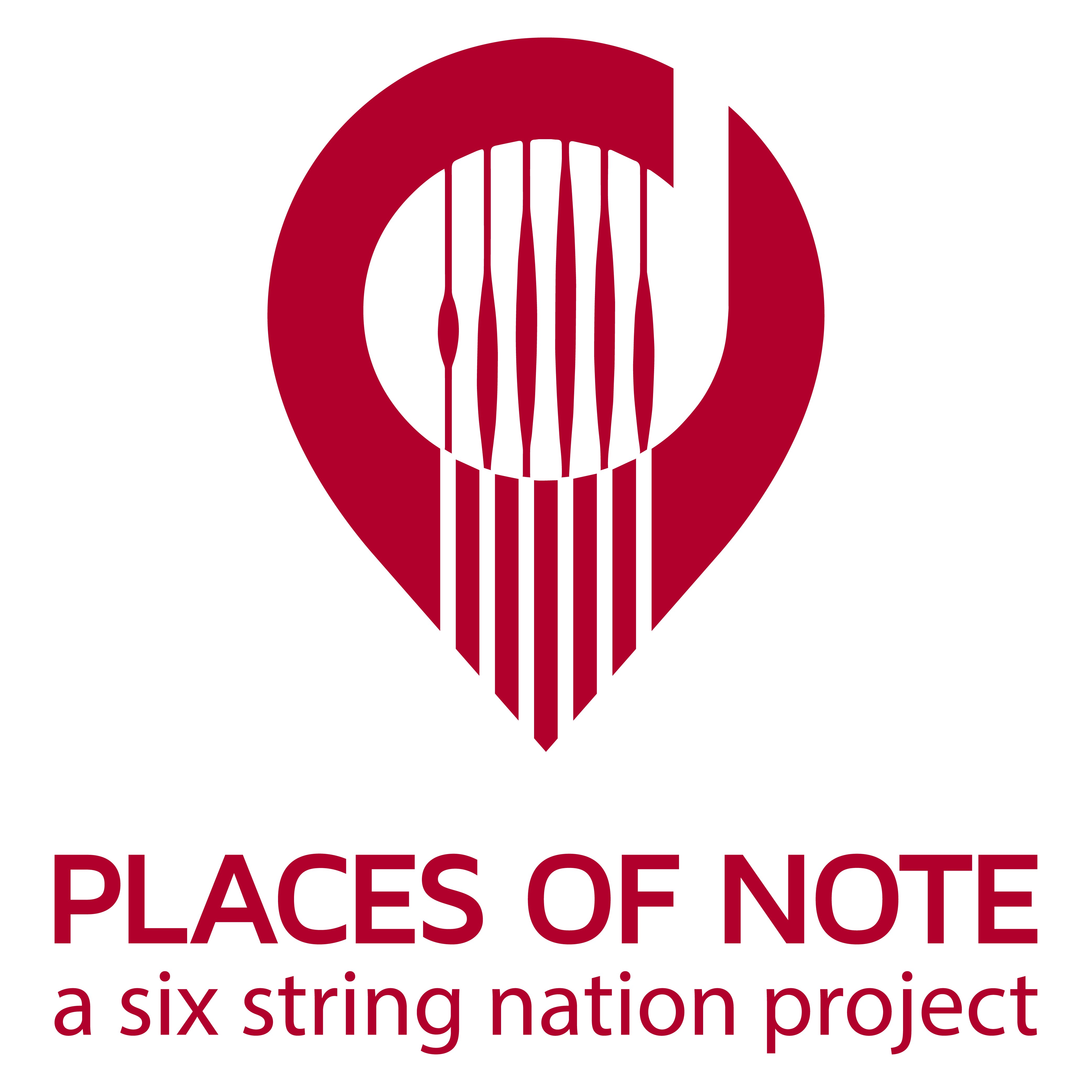"""Help lay down roots for a new Canadian guitar podcast called """"Places of Note""""."""