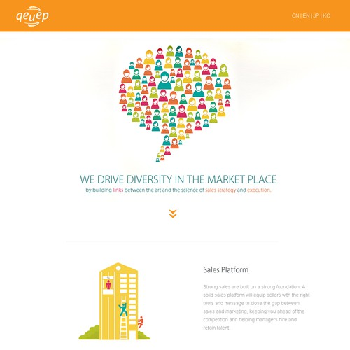 modern minimalist web design