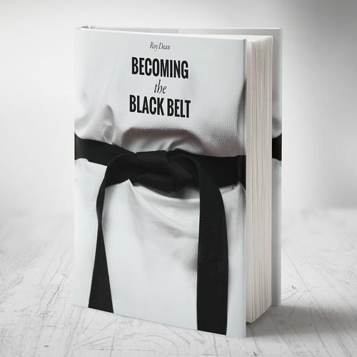 Book cover for a martial artist