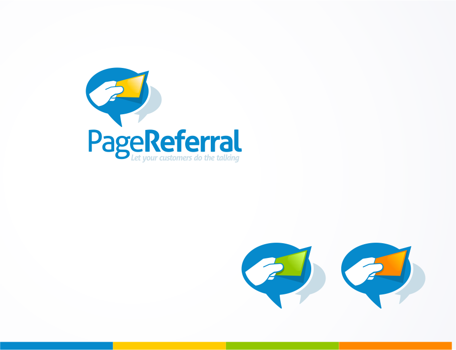How to illustrate a referral? How to show a portfolio?