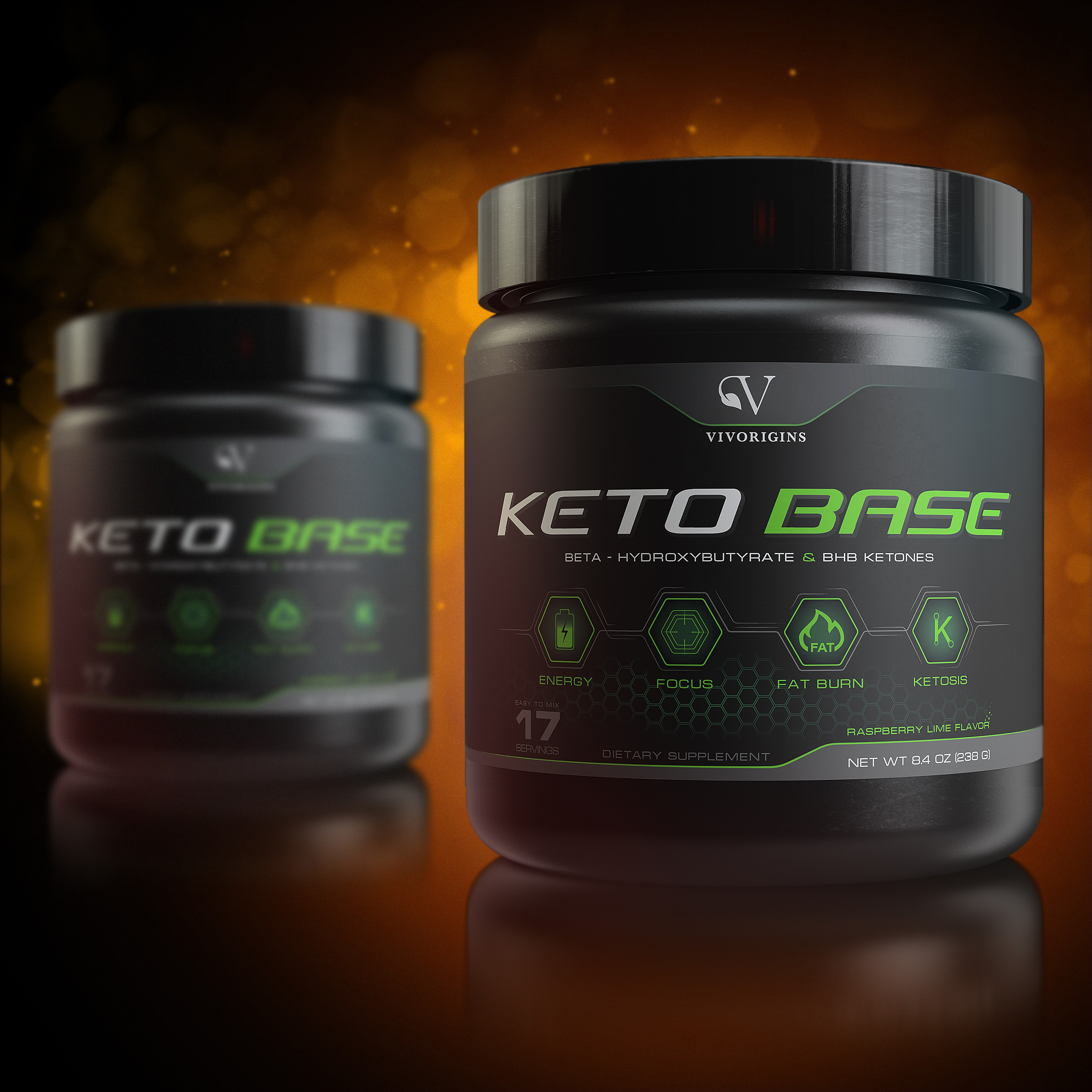 Need a great label design for new product Keto Zone