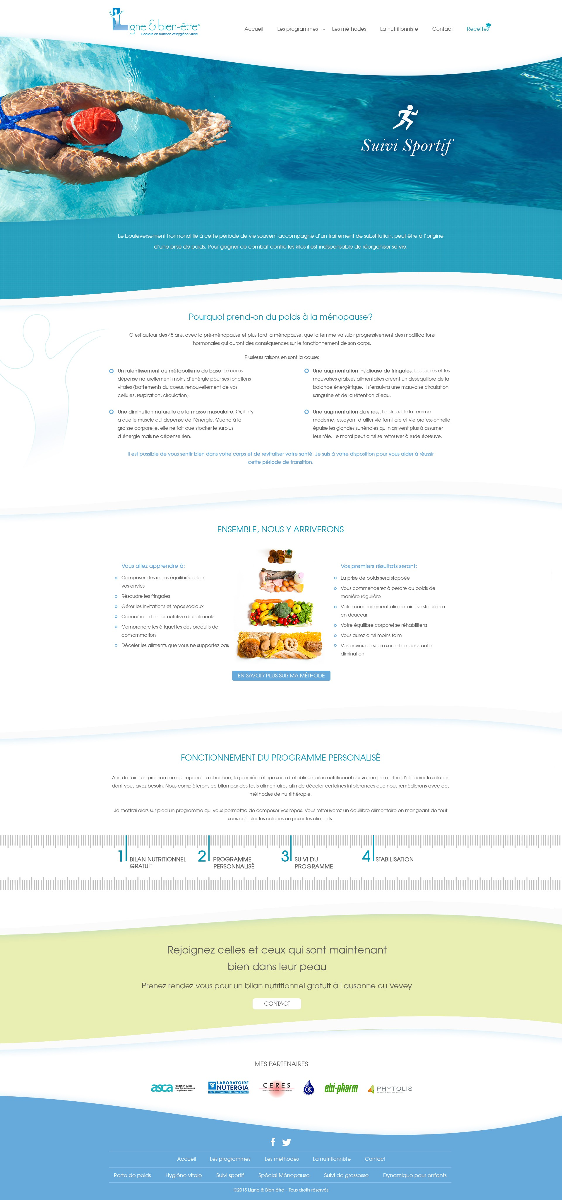 5 header images to find for 5 nutritional programs