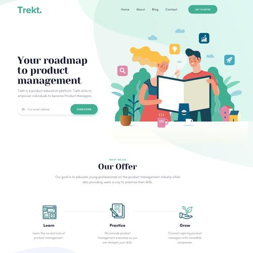Creative Landing Page Design