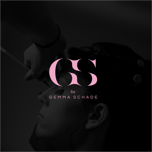 Initial logo type for Gemma Schade