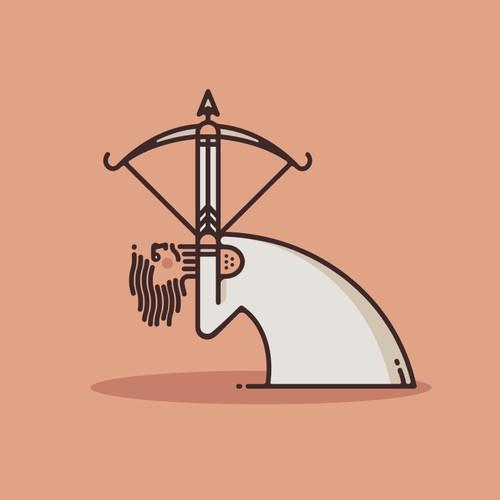Umami Prints Logo/Mascot