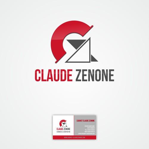 Nouveau projet dans la catégorie logo and business card pourClaude ZENONE