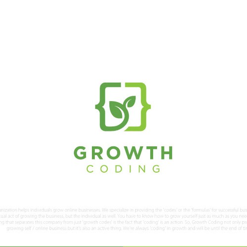 Logo for Growth Coding