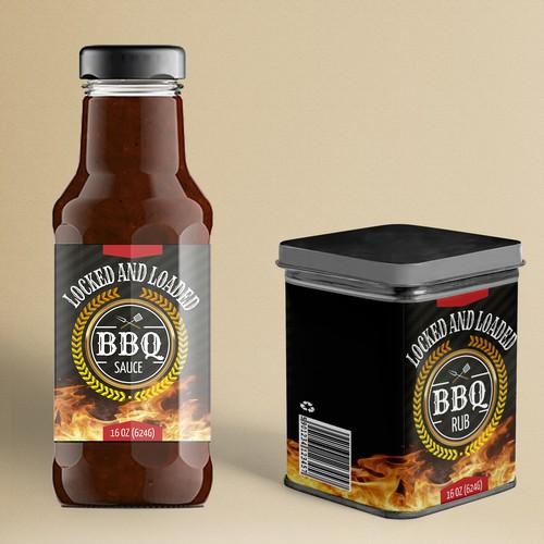 Label BBQ Sauce