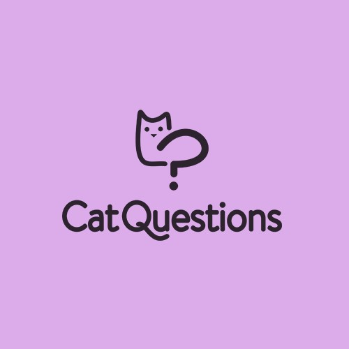 Bold minimalist logo for a cats lifestyle website