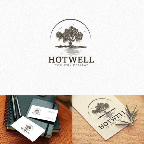 Hotwell handrawn Logo