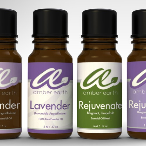 Create the next product label for Amber Earth