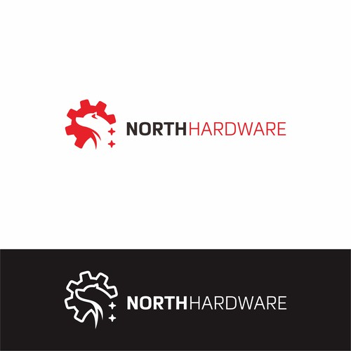 NORTH HARDWARE Logo Design