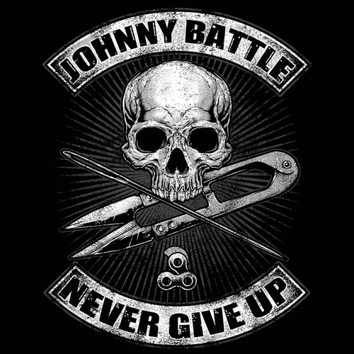 Crazy, Fun, Weird, Edgy Company needs an awesome shirt design Skull & Cross Bones Johnny Battle