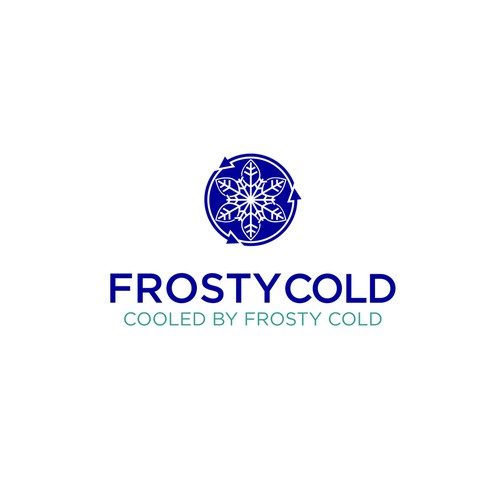 Logo concept for FrostyCold