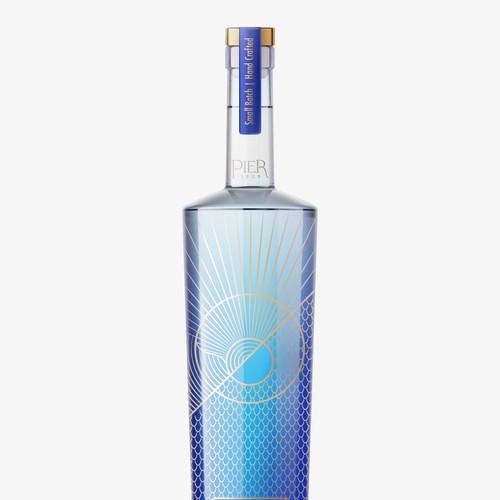 VODKA brand design refreshment