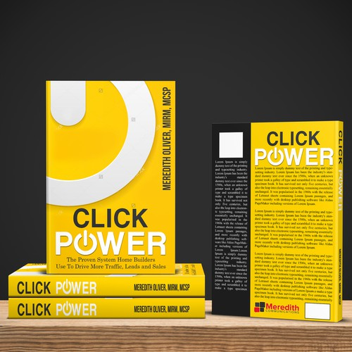 Bold and unique cover for Click Power