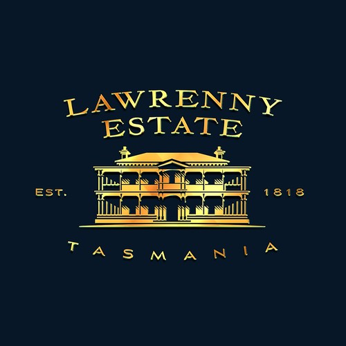 Logo for Lawrenny Estate Premium produce company Tasmania