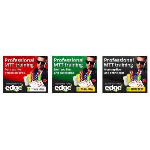 Tournament Poker Edge needs a new banner ad