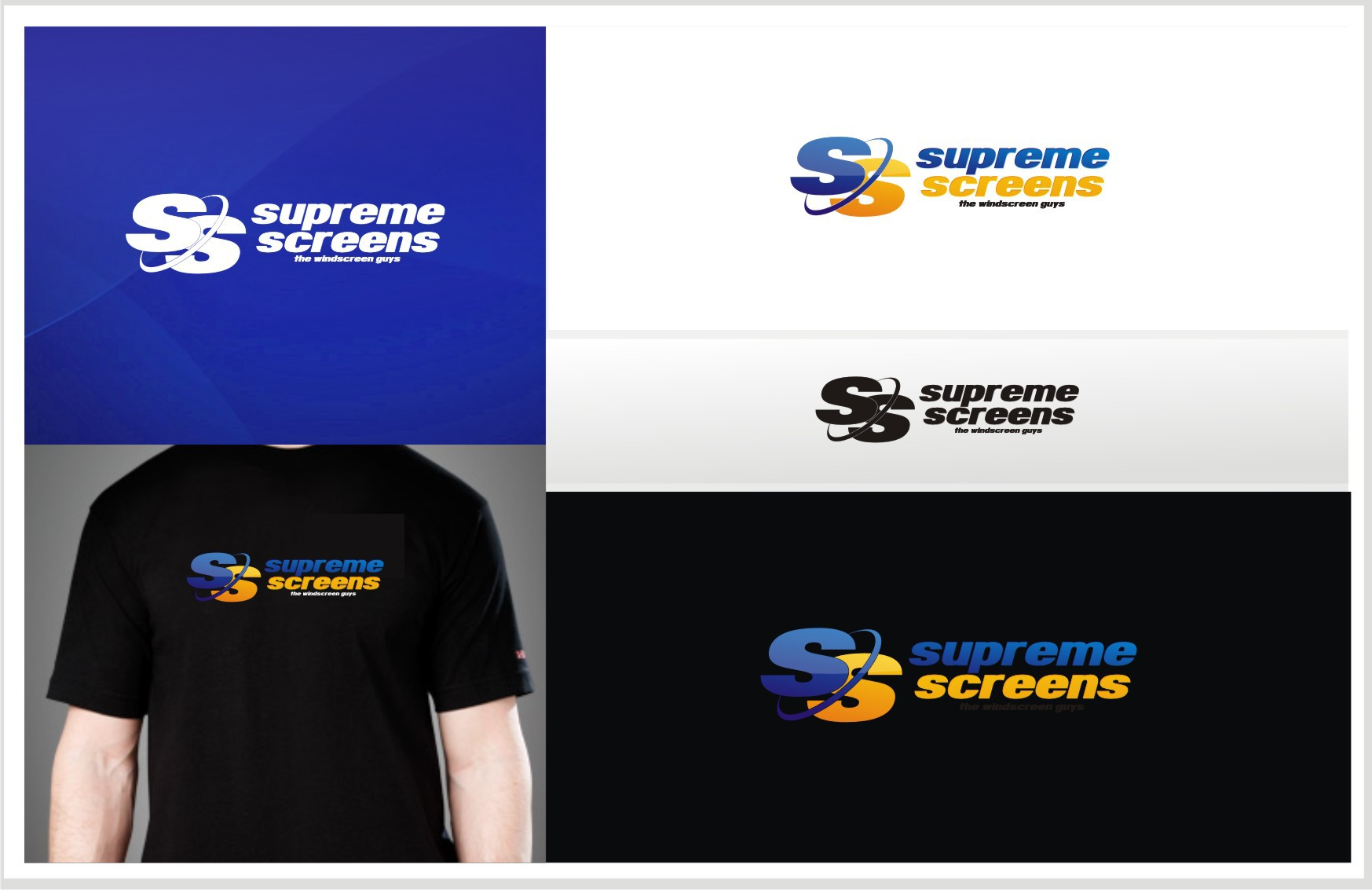 New logo wanted for Supreme Screens