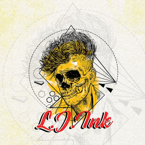 Logo for L.J.INKS a clothing company.