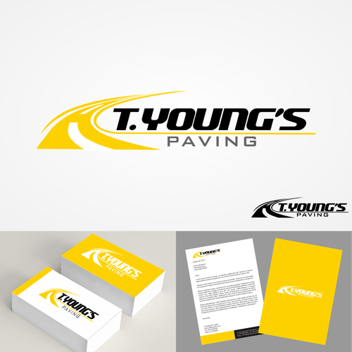 Logo for T.YOUNG'S PAVING