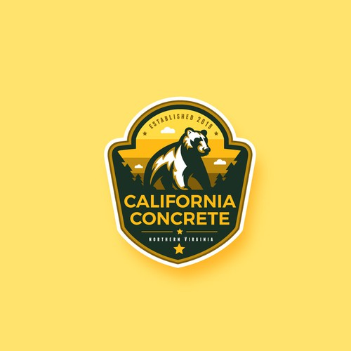 "Logo design for ""California Concrete"""