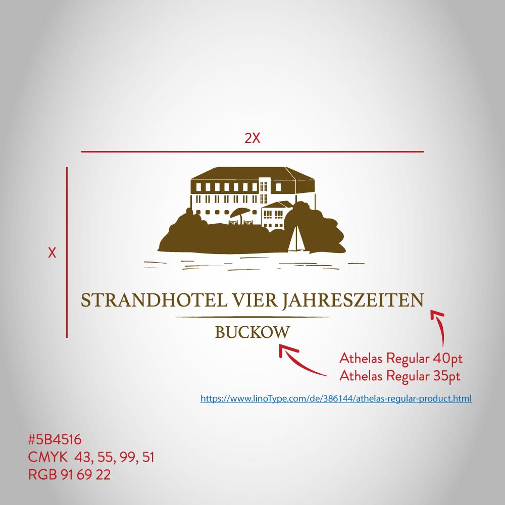 Überarbeitung/Neugestaltung eines Logos für ein Strandhotel