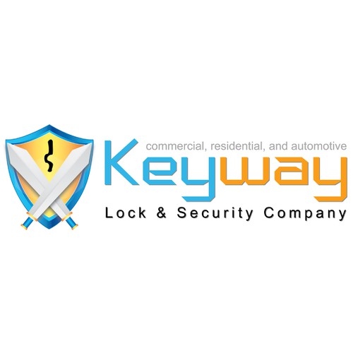 Help Keyway Lock & Security Company with a new logo