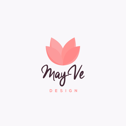 May Ve design with rose