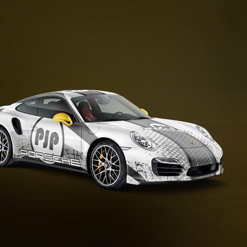 Porsche CarWrap