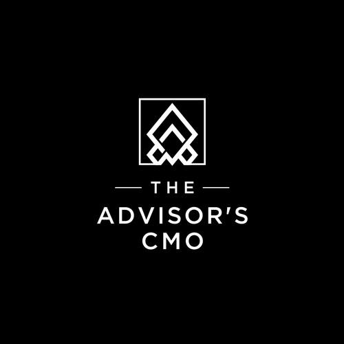 The Advisor's CMO Logo Design