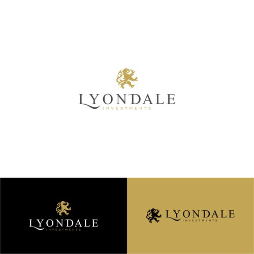 Wordmark logo for Liondale, A business consulting company based in Nevada