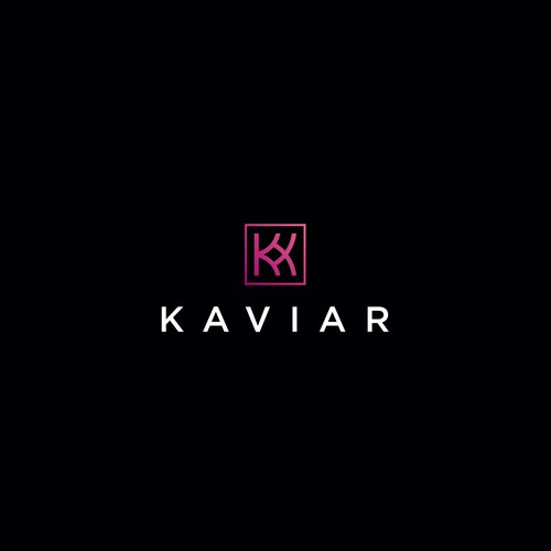 for sale K kaviar logo concept