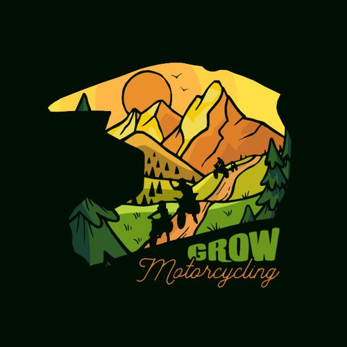 T shirt for a great motorcycling community