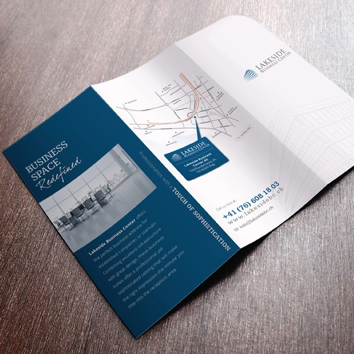 Create an attractive, promotional yet prestigious brochure to boost our sales