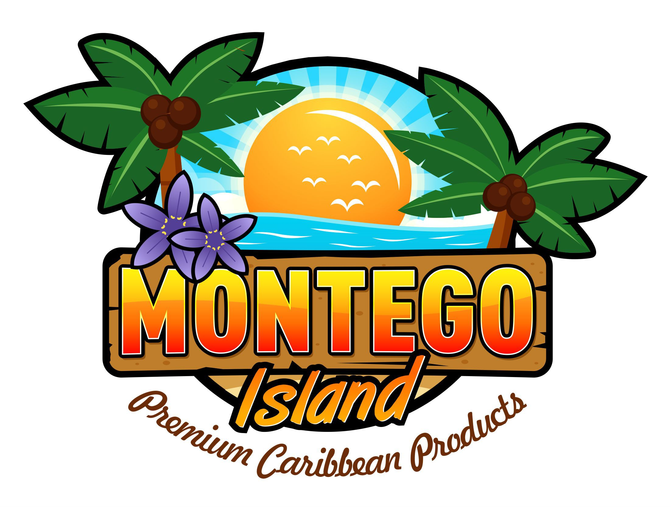 Caribbean and Tropical Logo Design