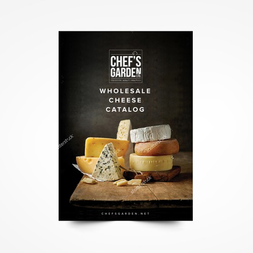 Wholesale Cheese Catalog for CHEF'S GARDEN