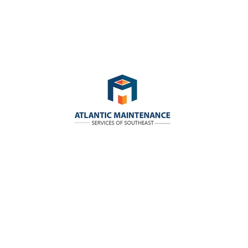 Atlantic Maintenance Logo Concept