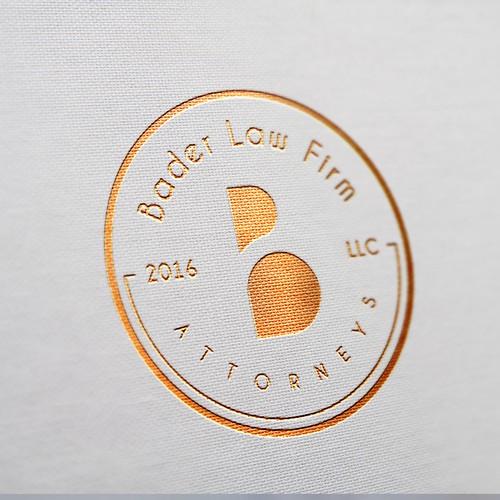 Logo Concept For Bader Law Firm, LLC