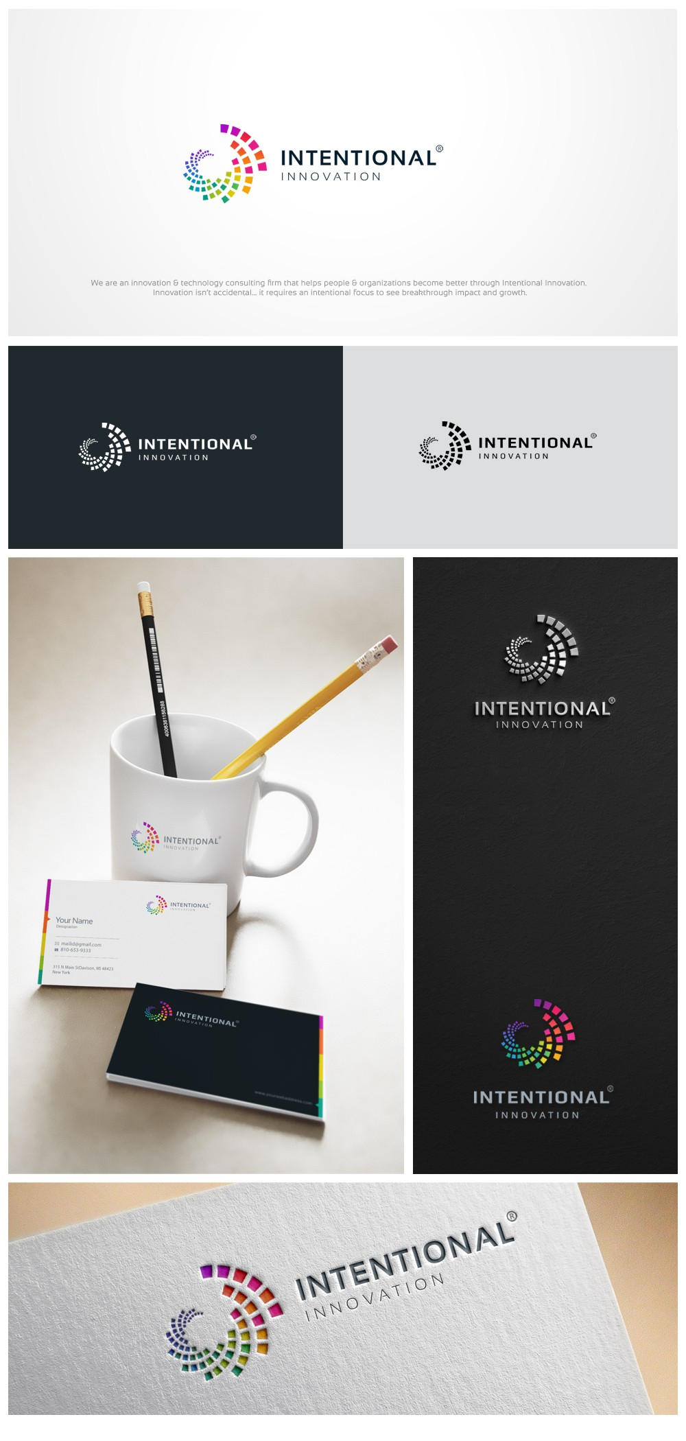 New Logo for an Innovation & Technology Consulting Firm