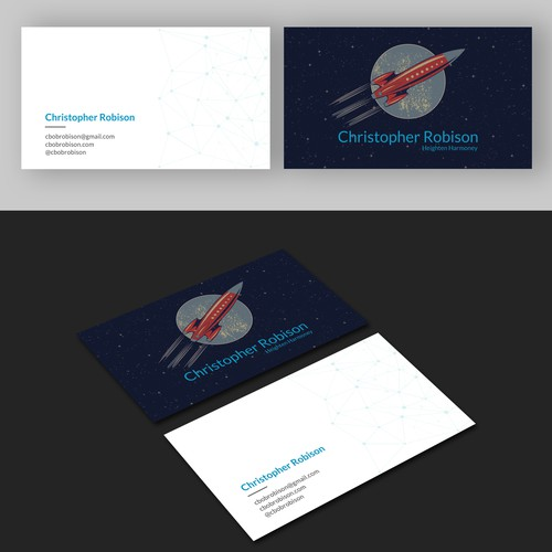 Block-chain Business card
