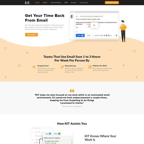 Homepage Design Kit
