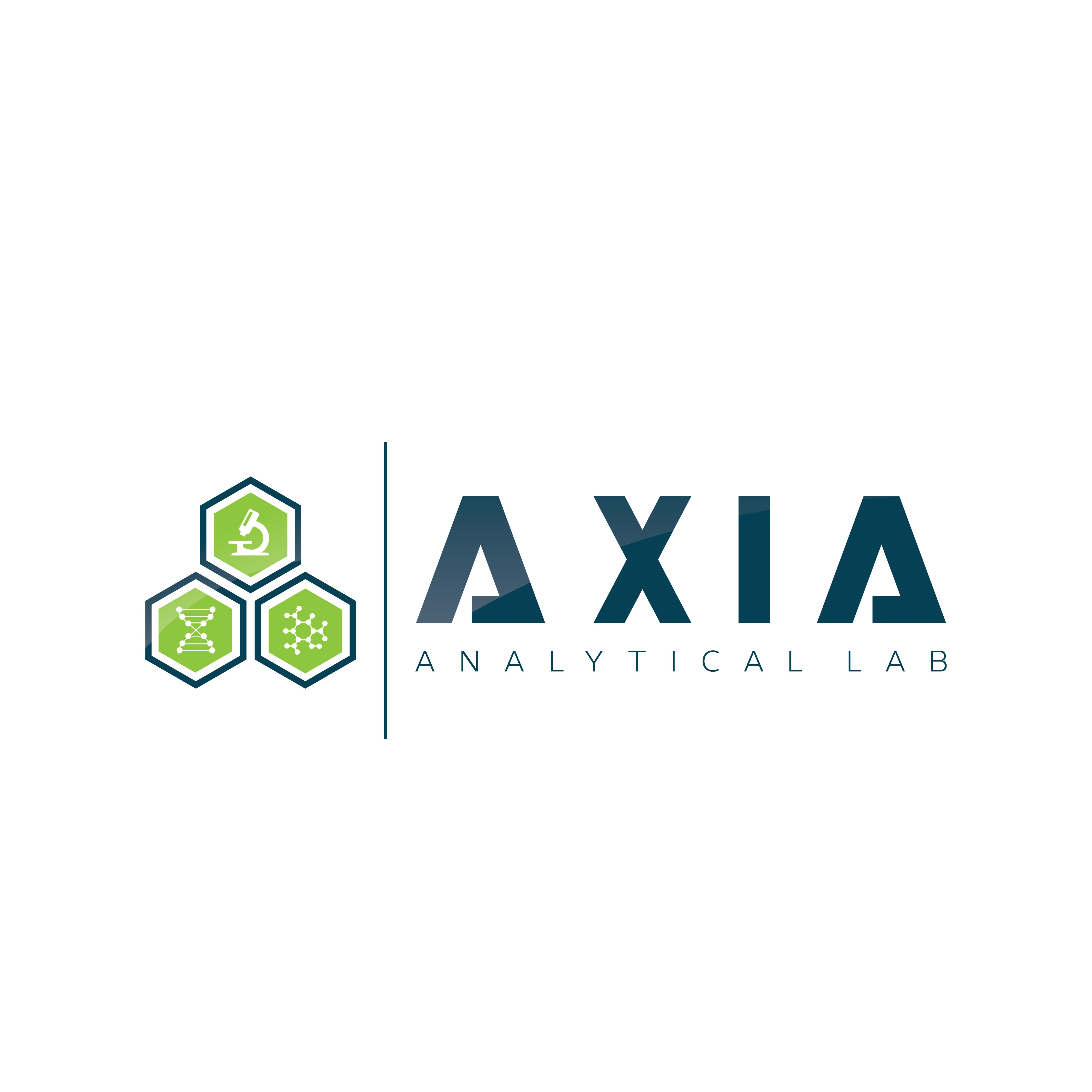 Create a modern logo for a analytical laboratory