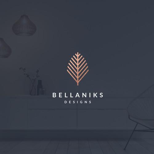 "Design a logo for ""Bellaniks Designs"""