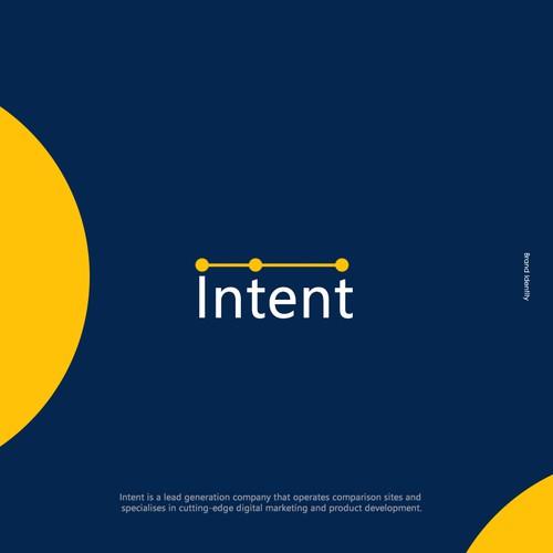 Intent Brand Identity ( Logo Design )
