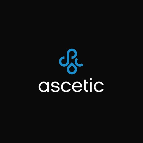 ascetic logo concept