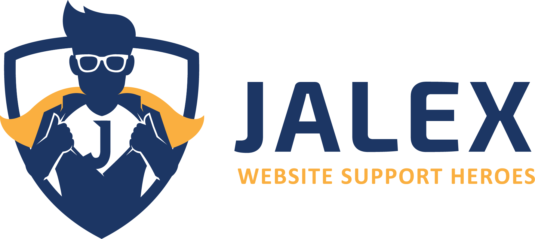 Design a fun yet professional logo for Jalex (Website Maintenance & Support)