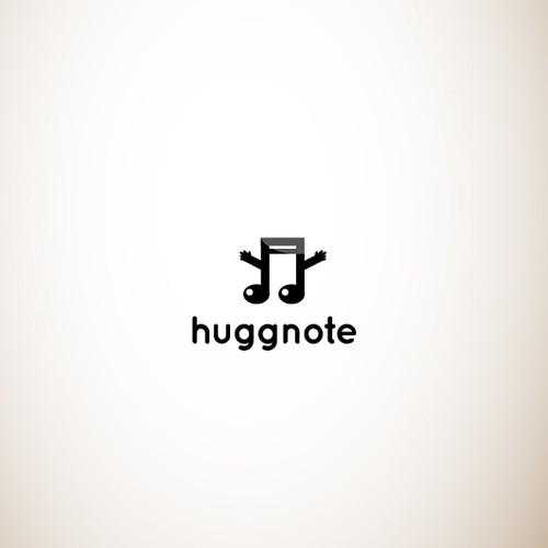 Musical logo for Huggnote