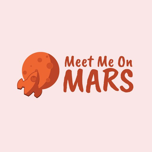 Cryptocurrency fund needs playful Mars-themed logo